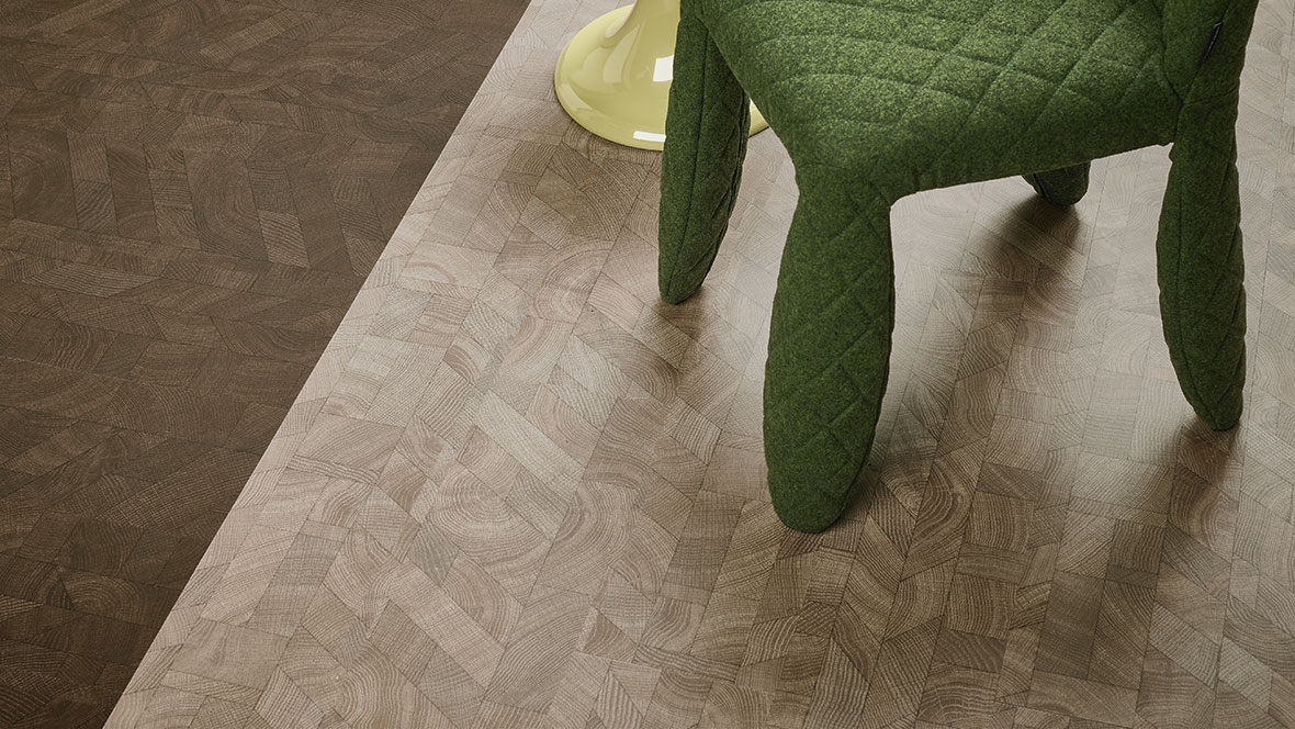 Allura 63516 dark graphic wood | 63517 light graphic wood