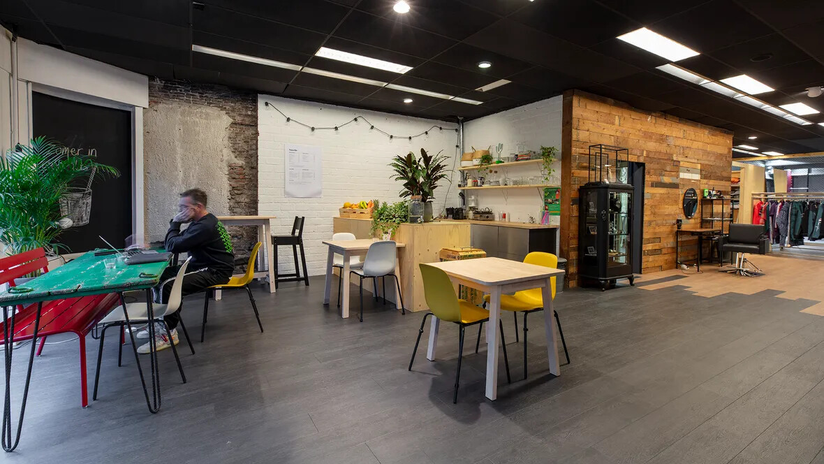 Forbo Allura Flex LVT installed in Younithy retail store