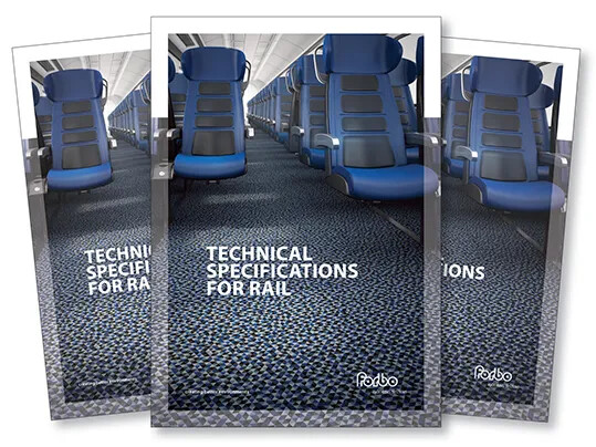 Tech Spec Rail Brochure Cover