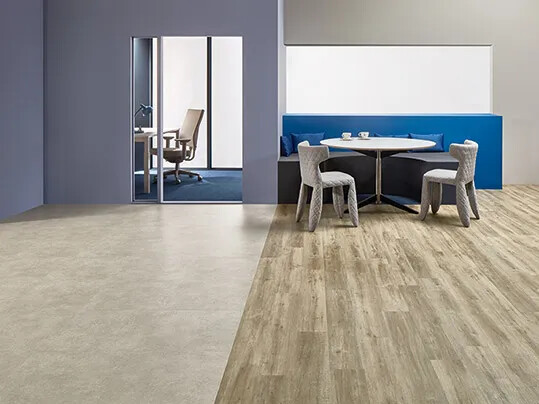 Revêtement de sol LVT acoustique à poisser | Forbo Flooring Systems