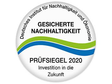 Prüfsiegel - Gesicherte Nachhaltigkeit - Deutsches Institut für Nachhaltigkeit und Ökonomie