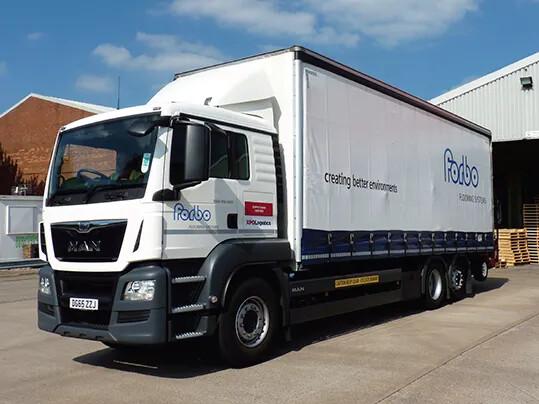 Servicios y logística - imagen camión