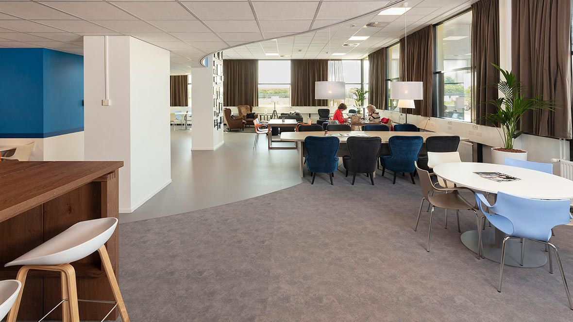 Marmoleum and Flotex