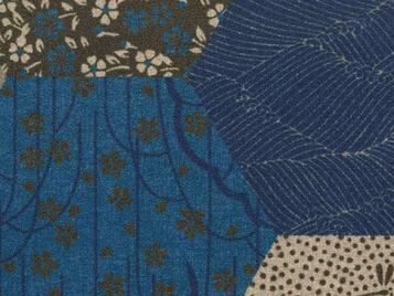 Flotex Vision Showtime 200002 Vision Ecosystems kimono blue