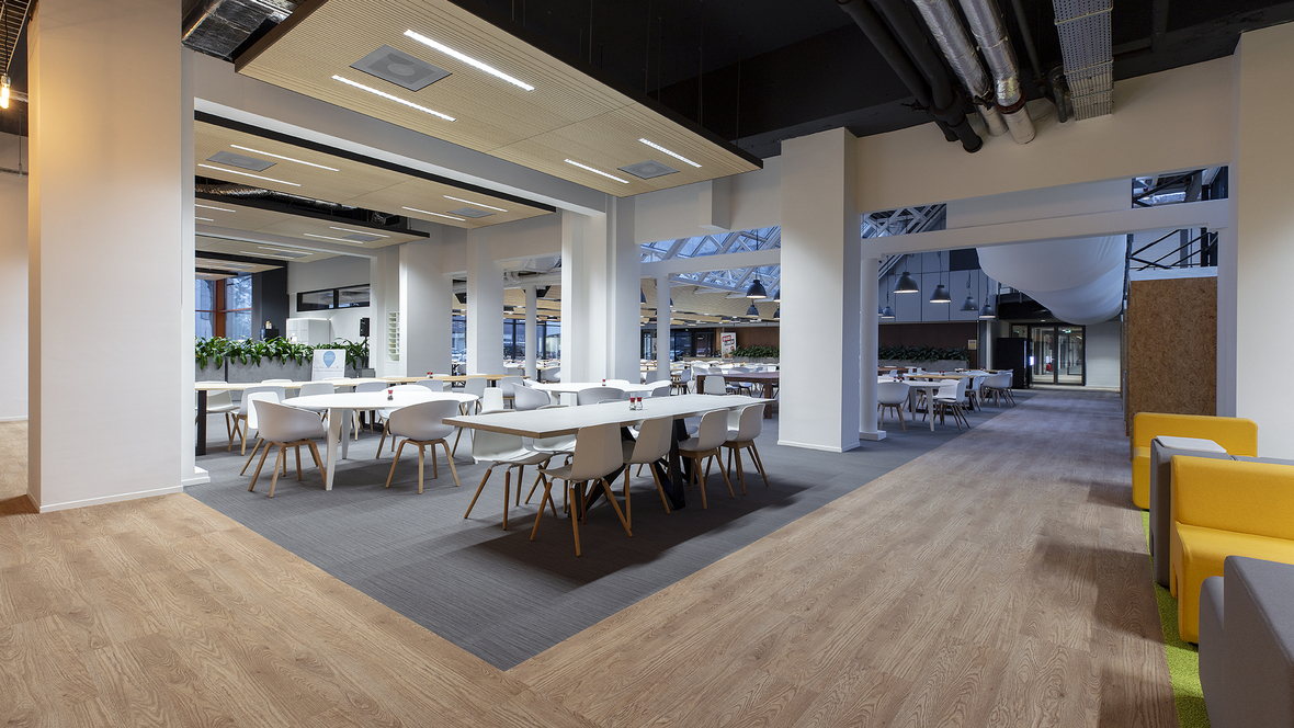 Revêtement de sol espace co-working | Forbo Flooring Systems