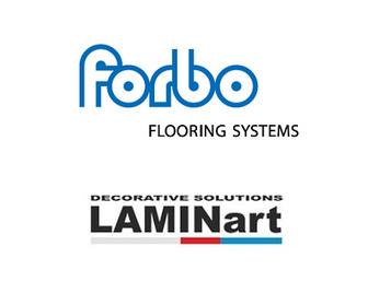 logo Forbo i partnera - Laminart