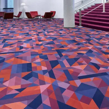 Revêtement de sol textile floqué Flotex vision showtime| Forbo Flooring Systems