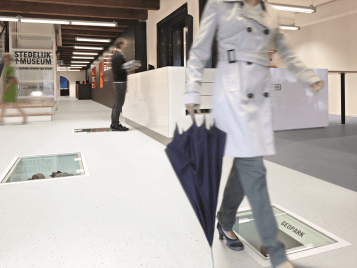 Step safety flooring