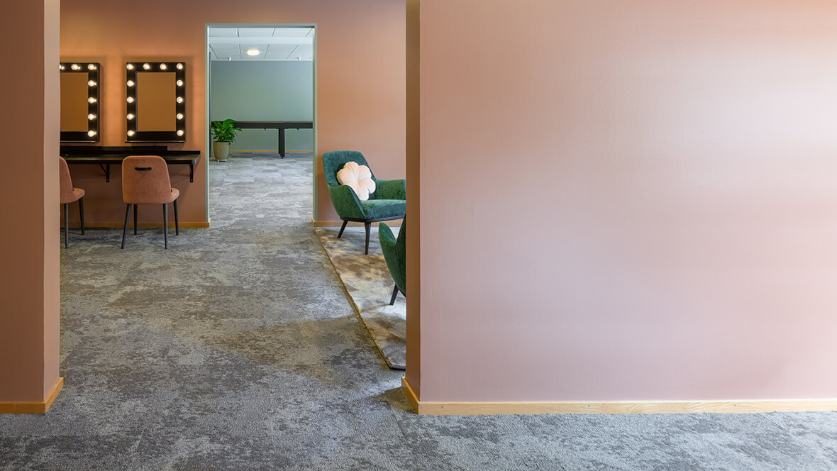 Djurönäset hotell & konferens interiör Forbo Tessera Cloudscape