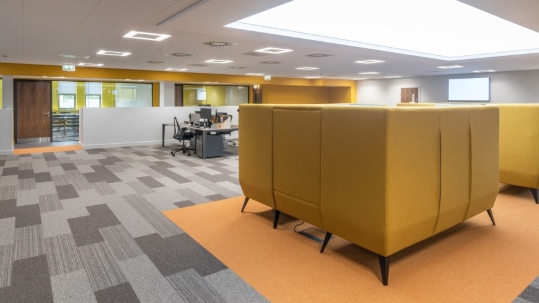 Tessera Layout and Outline in Parker Hannifin Offices