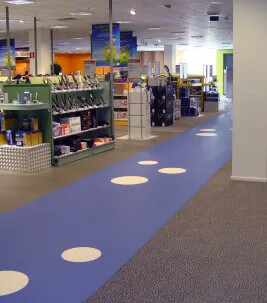 Flotex, retail
