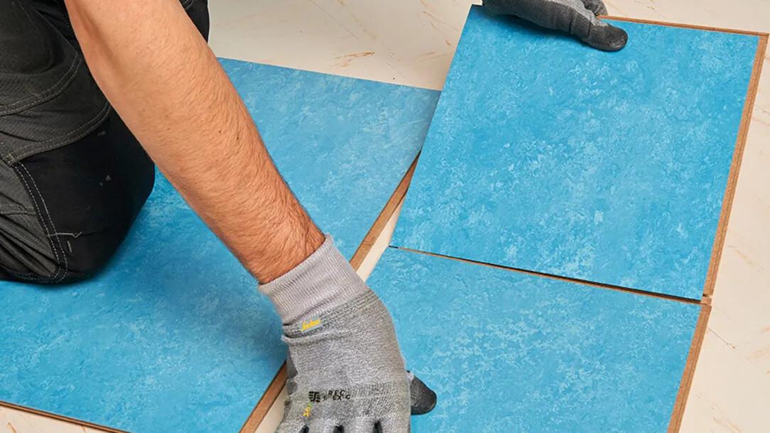 Rénovation dalles PVC