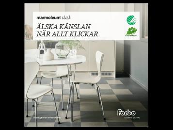 Marmoleum Click – Älska känslan när allt klickar – Broschyr SE 2020
