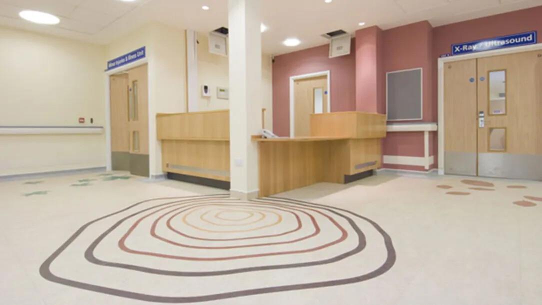 Revêtement de sol |Sols résilients hôpitaux | Forbo Flooring Systems
