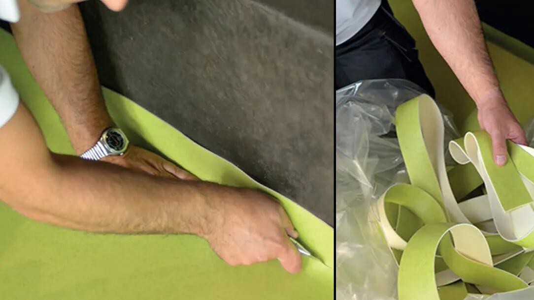 Revêtement de sol | Recyclage déchets chantier | Forbo Flooring Systems