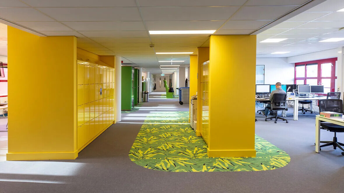 fFlotex Flocked Flooring in Stenden university