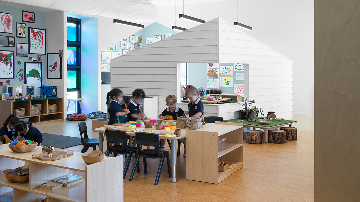 John Paul College Kindergarten - Marmoleum 2707, 2767, 3174