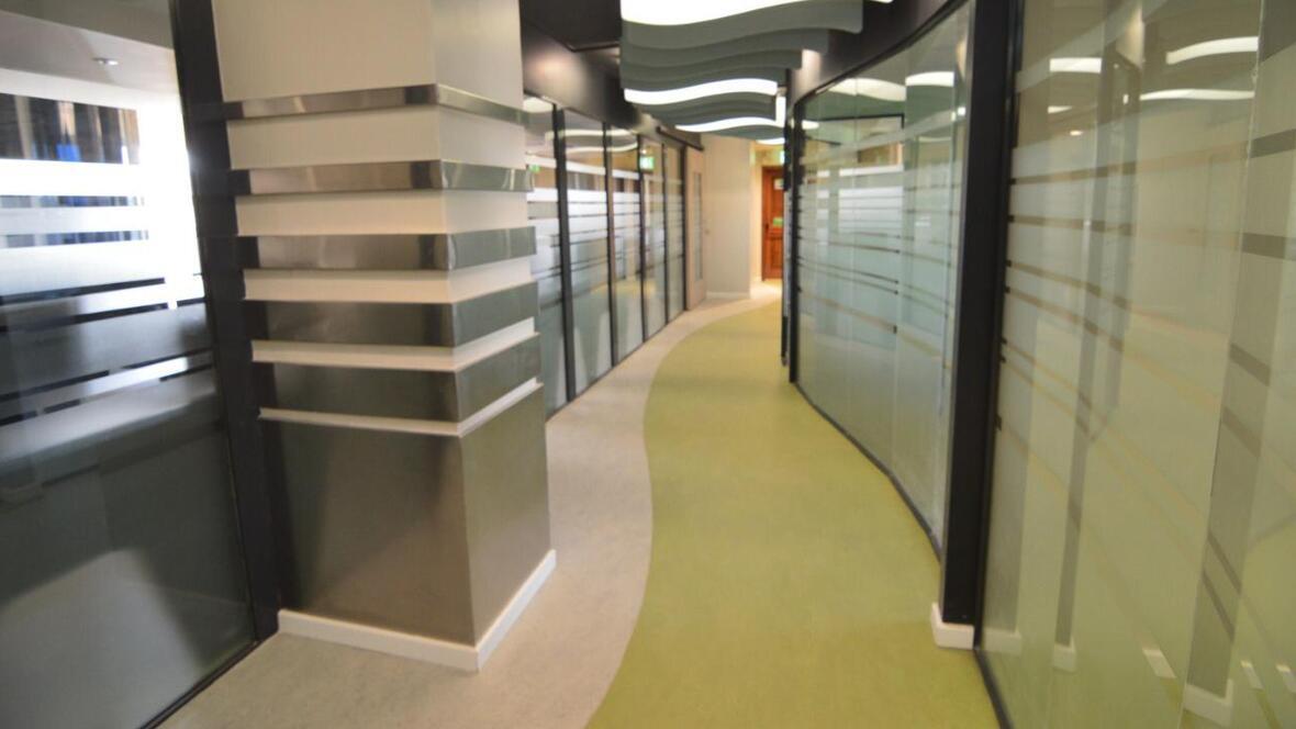 Safaricom Marmoleum Marbled| Forbo Flooring Systems