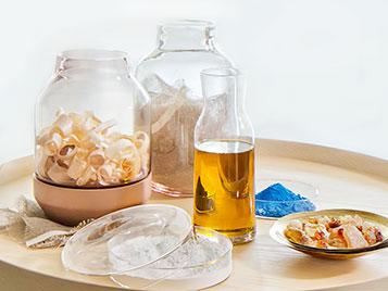 Rohstoffe von Marmoleum