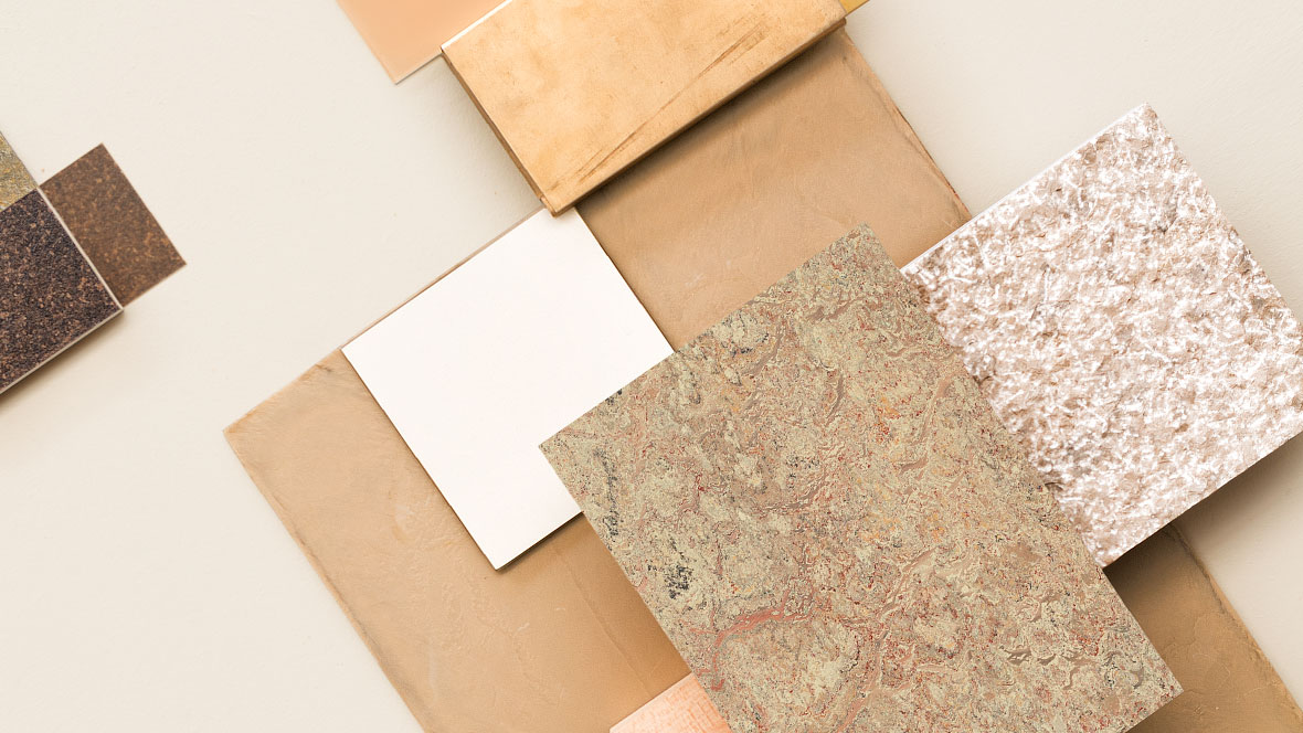 Marmoleum - natürlich schön, auch in Verbindung mit zahlreichen anderen Materialien