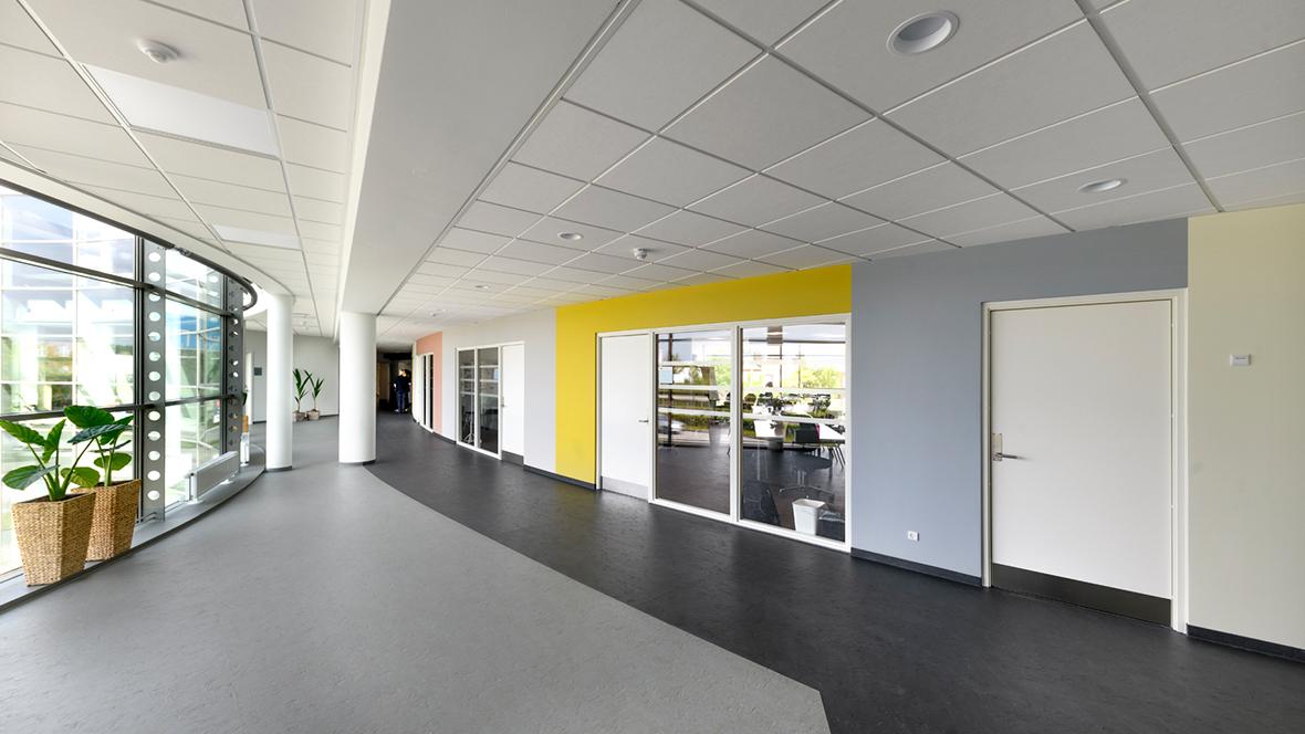 Nellemann Bygningen Genoptræningscenter marmoleum