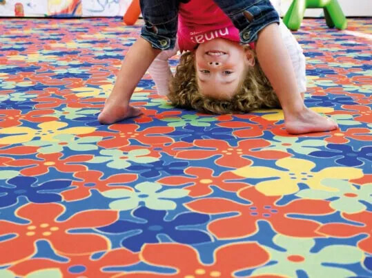 Flotex Vision flocked flooring - Allergy UK