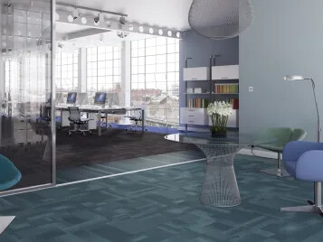 Carpet tiles as office flooring | Forbo Flooring Systems