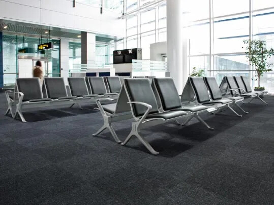 Flotex metro - Flooring for airport