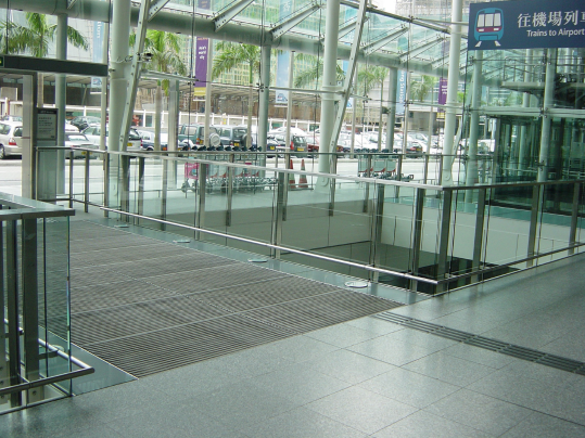 Nuway rigid entrance flooring