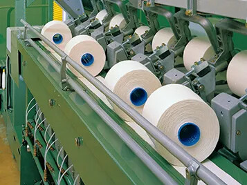 Transport of yarn in the textile industry with Transilon conveyor belt