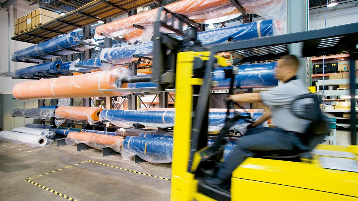 Transilon transportbåndsmateriale på lager