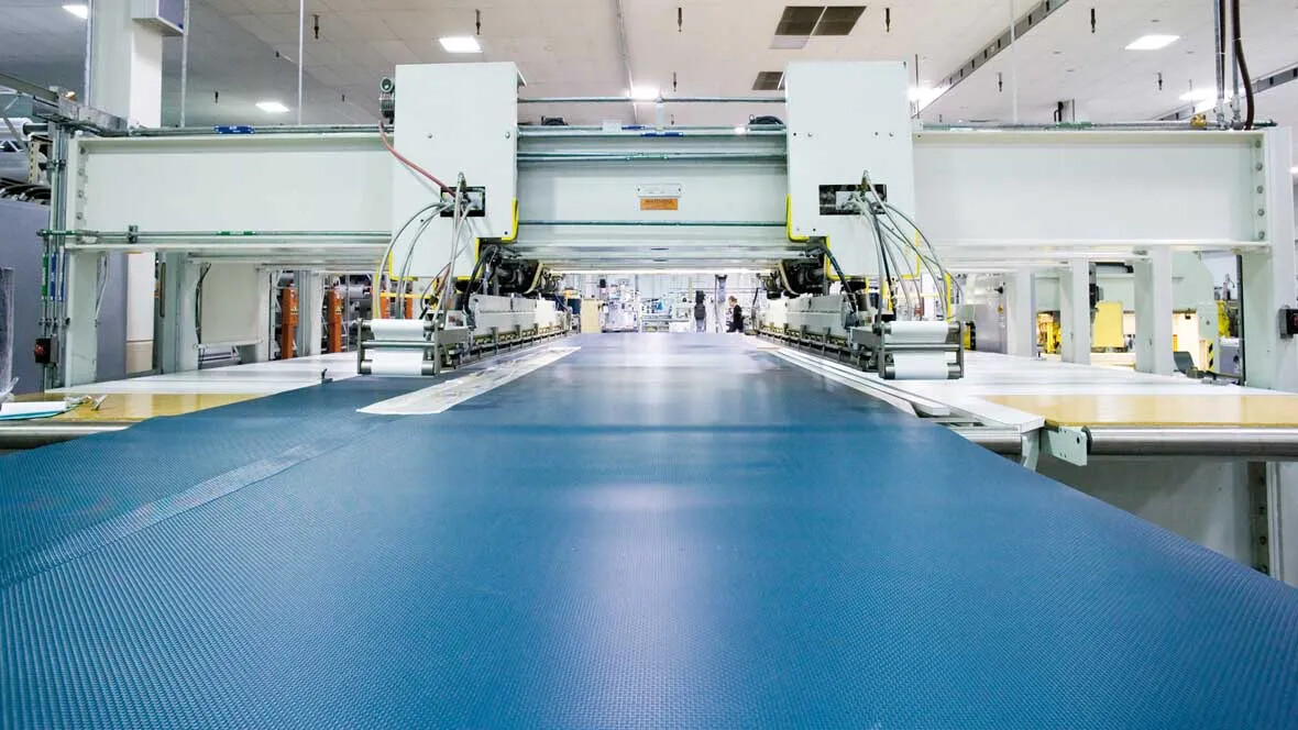 Transilon conveyor belt fabrication