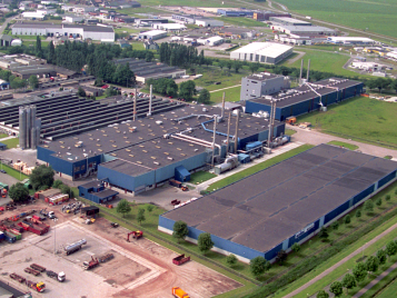 Forbo vinyl factory in Coevorden, The Netherlands