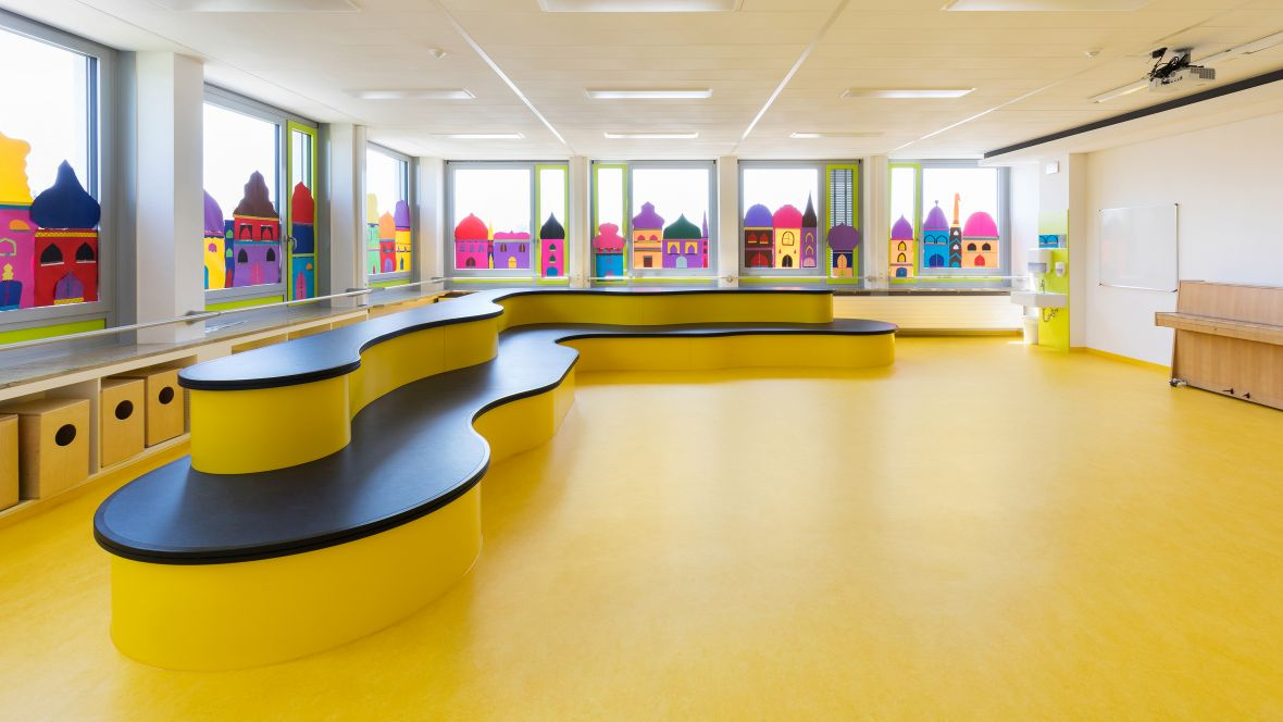 Marmoleum Flooring for schools and university