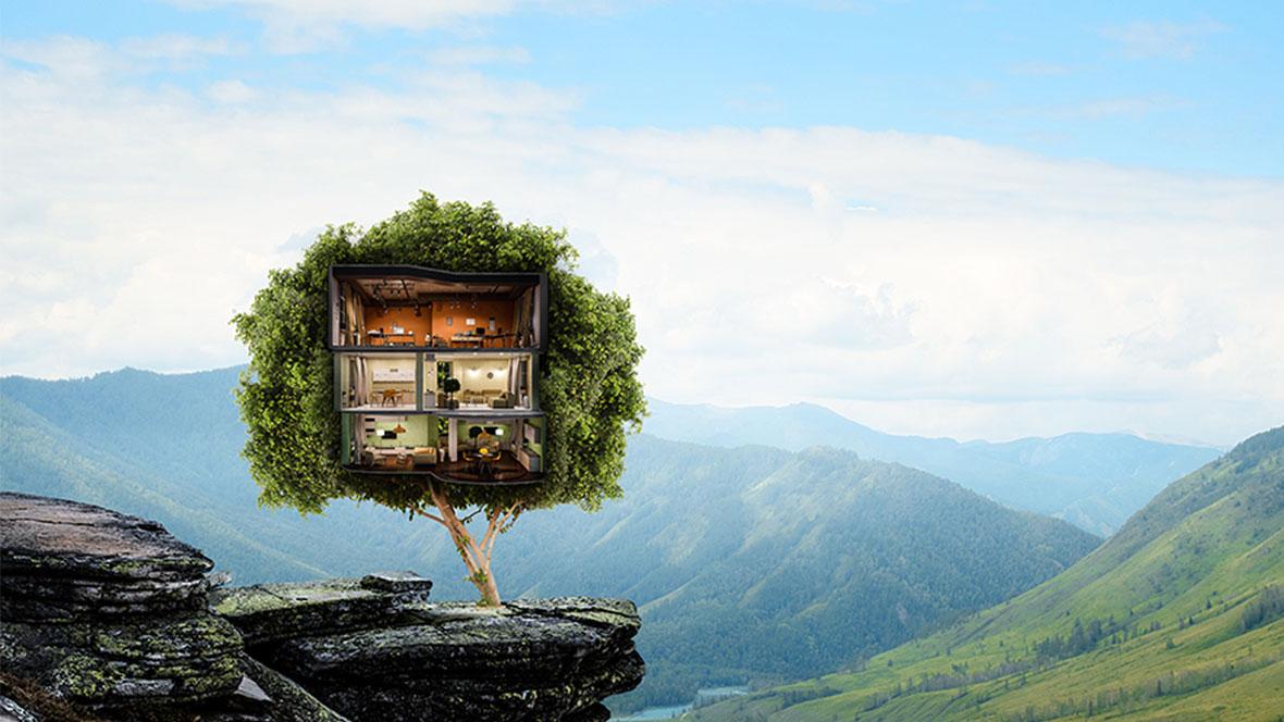 Nature - Green Buildings