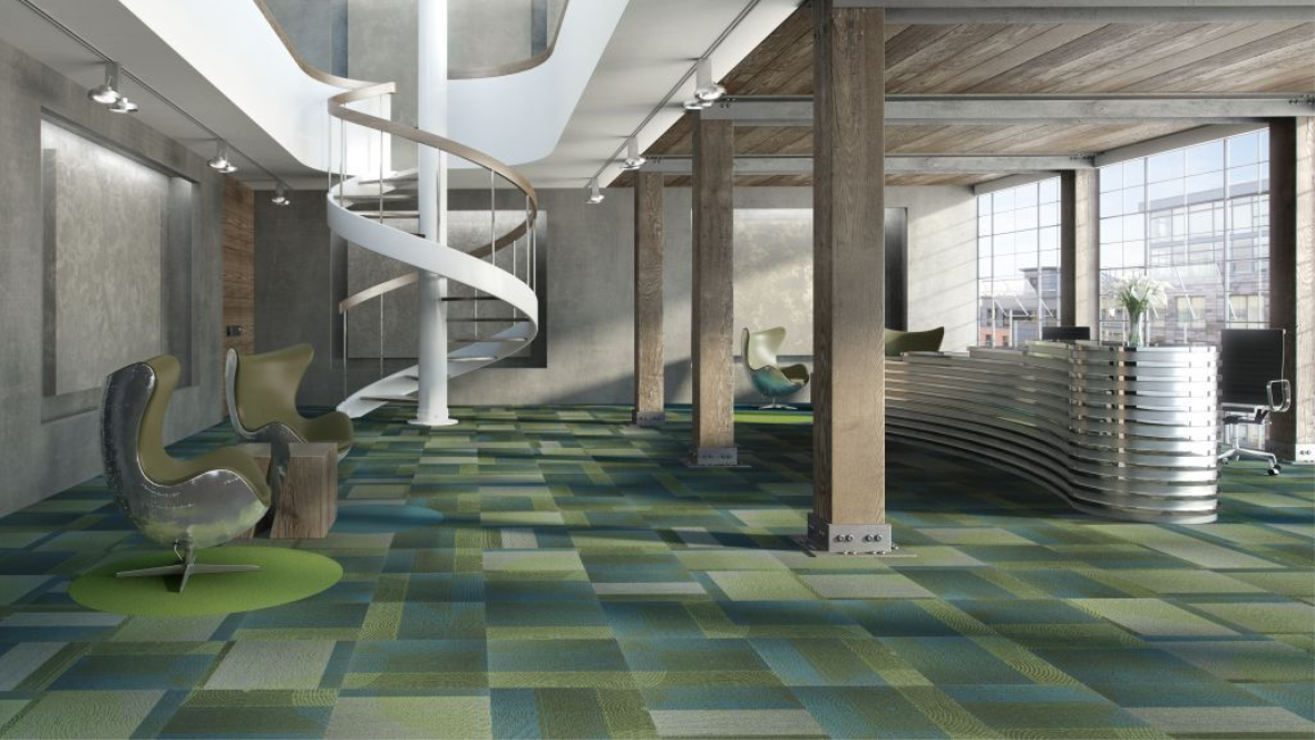 Tessera Random Lay Batchless Carpet Tiles By Forbo