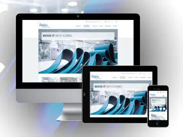 New website relaunch for Forbo Movement Systems