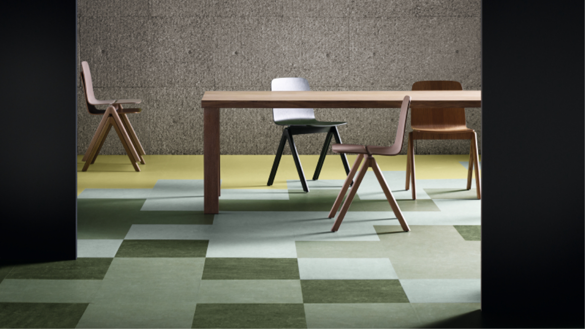 Marmoleum Modular Natural Tile Flooring