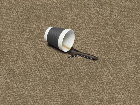 Flotex Metro Sand 246012 coffee stain