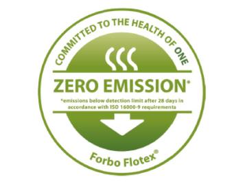 Flotex zero emission logo