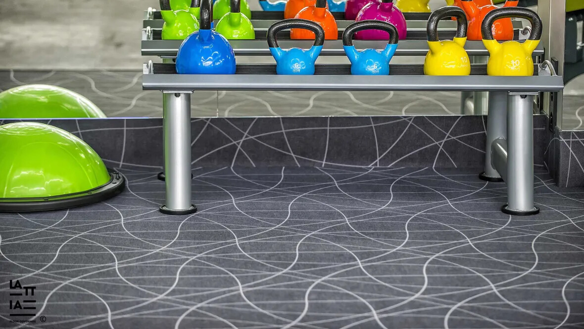 Flotex Flocked Flooring - Vision - Curve