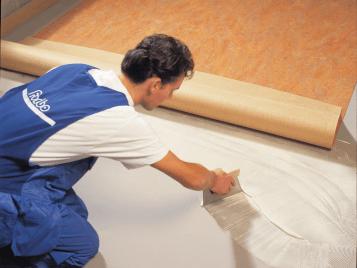Linoleum Installation