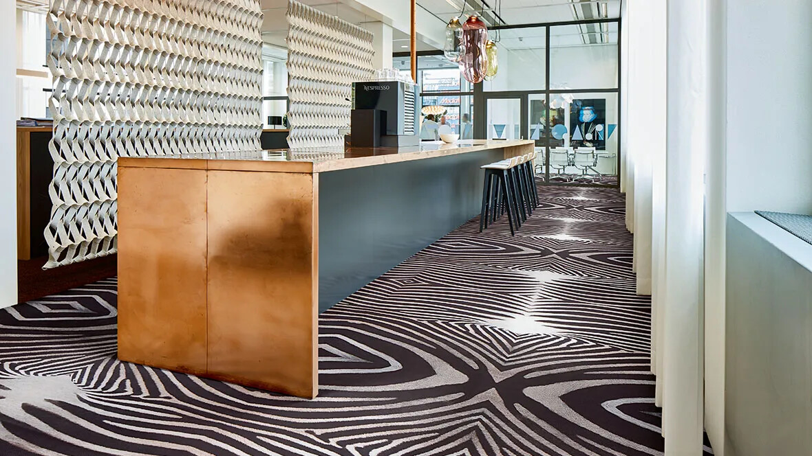 Flotex Flocked Flooring Vision Zebra