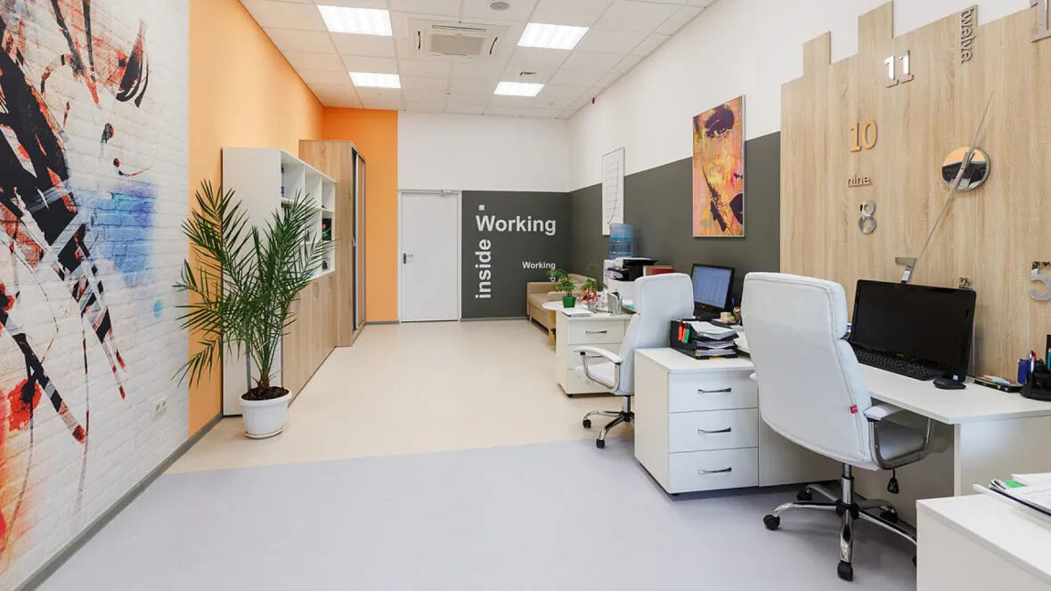Recreation rooms marmoleum