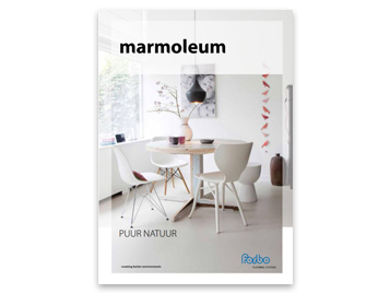 Brochure marmoleum at home