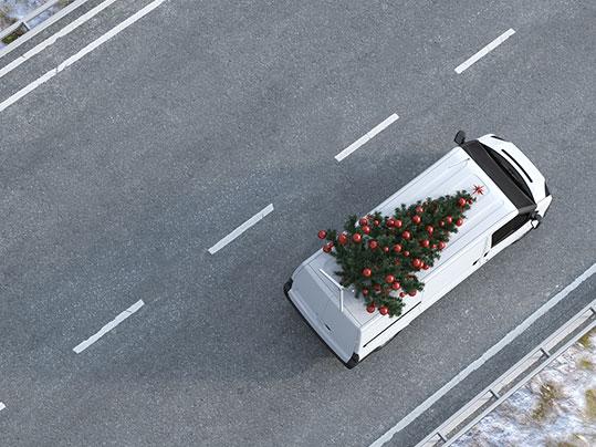Logistik Weihnachten