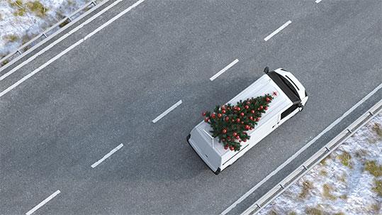 Versand Weihnachten