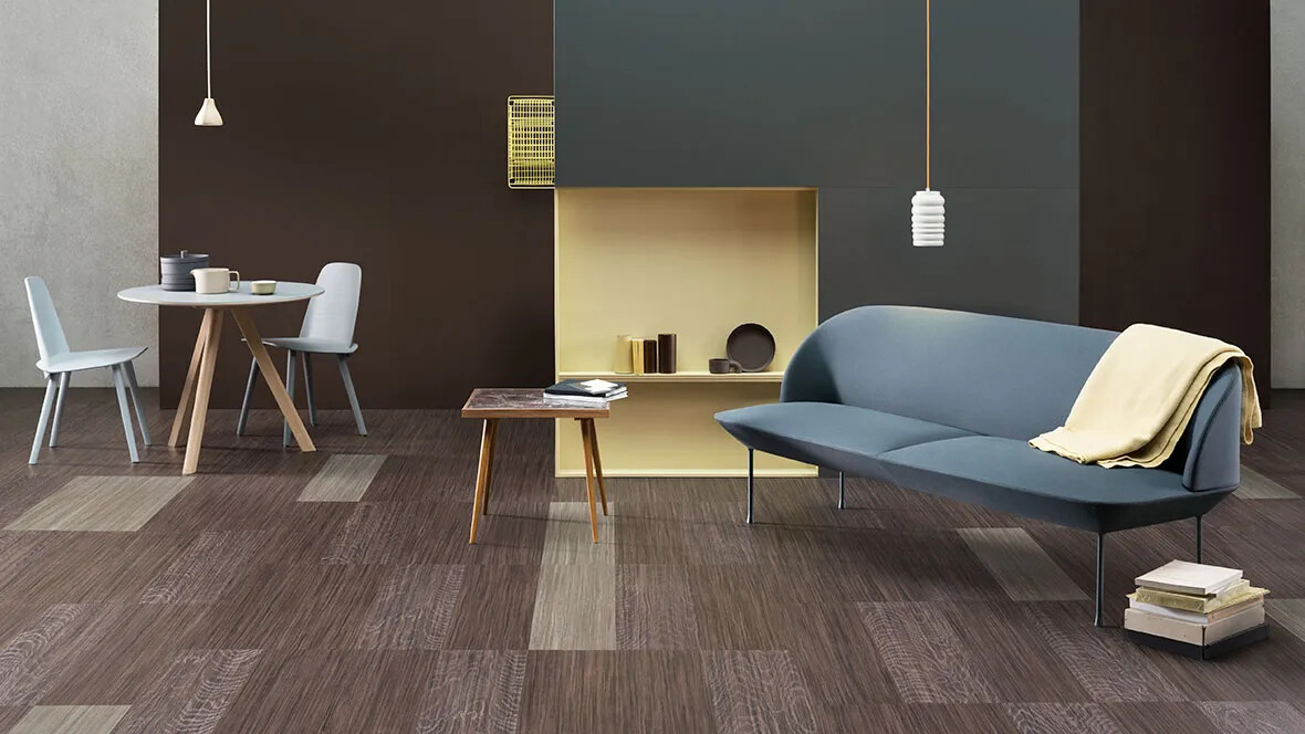 Naturally PVC Free Modular Flooring