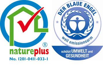 Natureplus und Blauer Engel