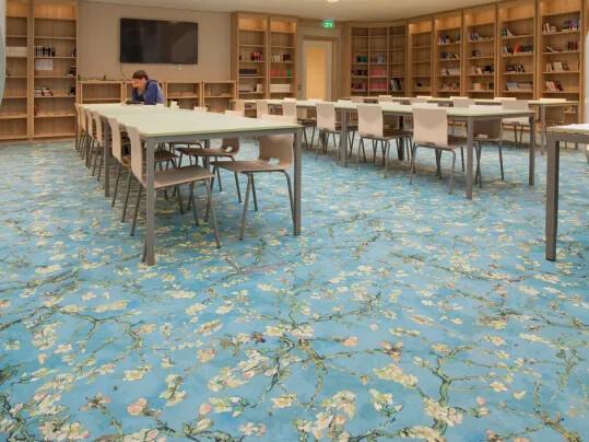 Flotex, le sol textile floqué inspiré par Van Gogh - Collection Flotex Van Gogh